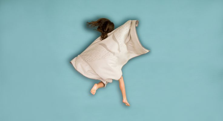 Angel wings to protect you while you fly! Premium baby alpaca throw.