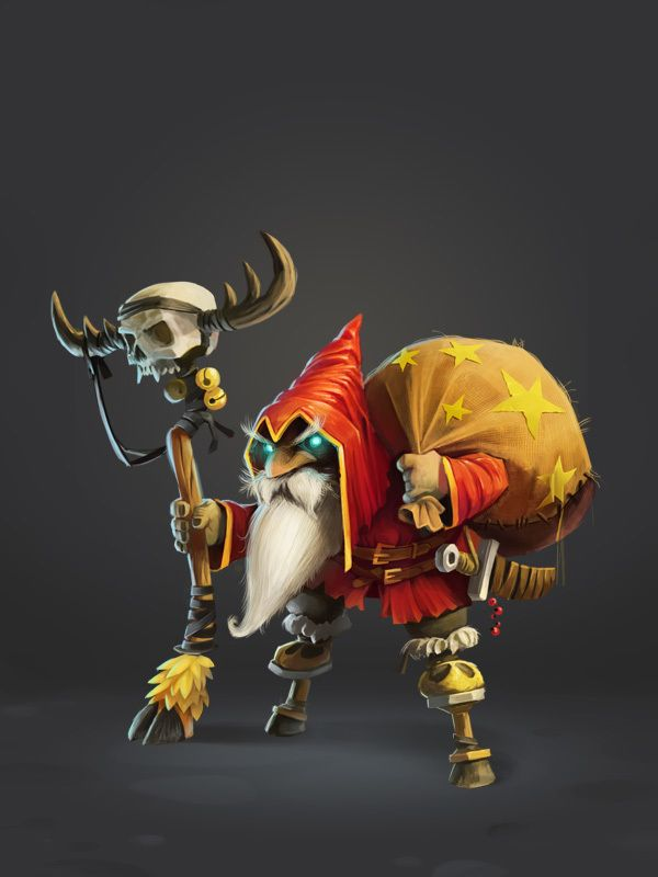 Game character design by Nikita Orlov, via Behance