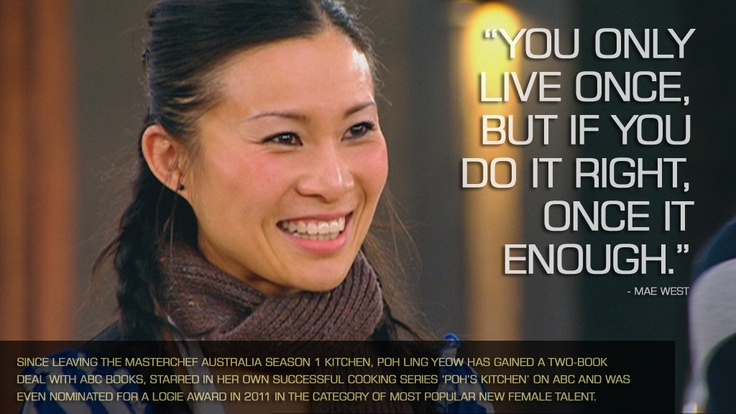 Since leaving the MasterChef Season 1 kitchen, Poh Ling Yeow has gained a two-book deal with ABC books, starred in her own successful cooking series 'Poh's Kitchen' on ABC and was even nominated for a Logie Award in 2011 in the category of Most Popular New Female Talent. MAKE POH'S BUDDHA'S DELIGHT: http://bit.ly/13AHjrC