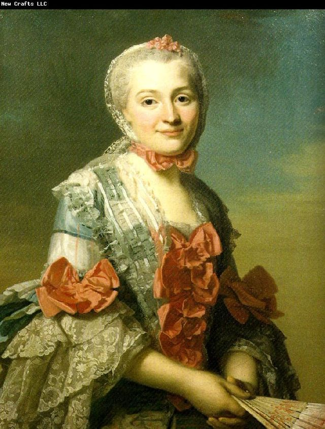 Portrait of Mme Charlotte Suzanne d´Holbach, second wife of Baron d'Holbach