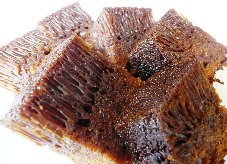 Honeycomb Cake - A Malaysian Recipe - saving this to make on treat day!!