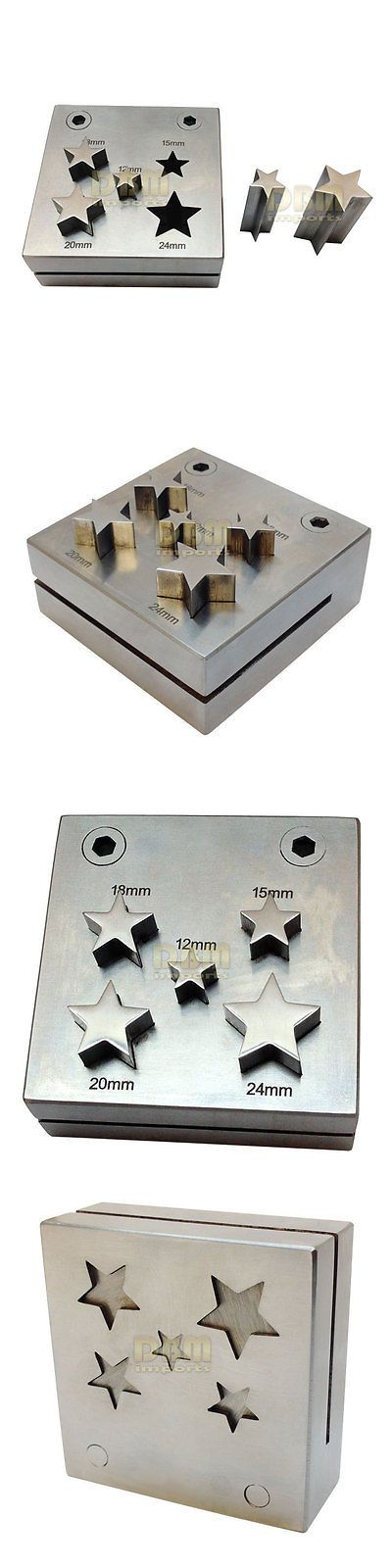 Punches and Stamps 179258: 5 Pc Star Shape Metal Punch Disc Cutter 12 - 24Mm Jewelry Hole Puncher Tool BUY IT NOW ONLY: $189.97