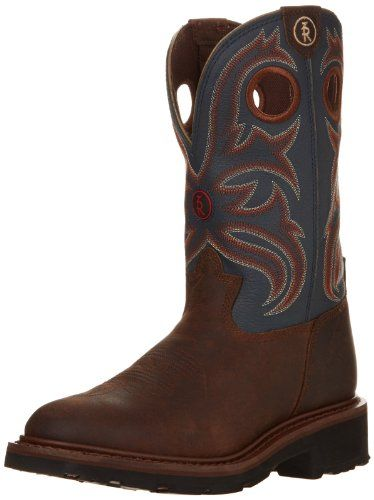 Tony Lama Boot Co. has been making boots for ranching, roping, and riding since 1911. New Tony Lama 3R Series work boots take that farm-ready durability to work boot levels Tony Lama 3R work boots are handcrafted with a oak crazyhorse buffalo leather foot under a fancy stitched 11