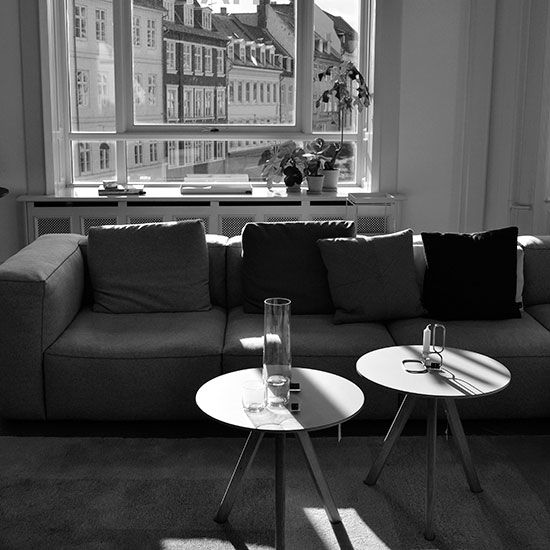 Copenhagen Photo Tour: HAY House | Interior design and furniture for those who love the modern, simple, Scandinavian style.