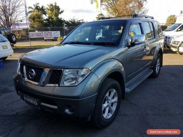 2007 Nissan Pathfinder R51 TI (4x4) Grey Automatic 5sp A Wagon #nissan #pathfinder #forsale #australia