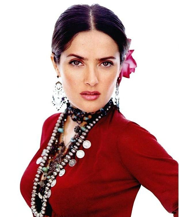 Frida Kahlo Style Salma hayek