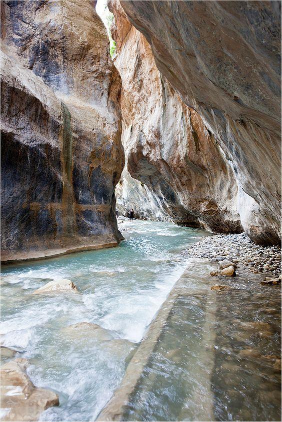 Sarakinas Canyon, Crete, Greece