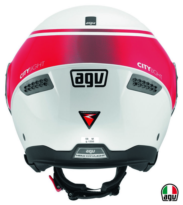 AGV New Citylight - World White/Red
