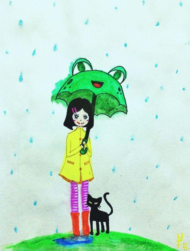Froggy umbrella