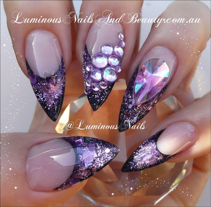 Best 25 luminous nails ideas on pinterest for Acrylic nails salon brisbane