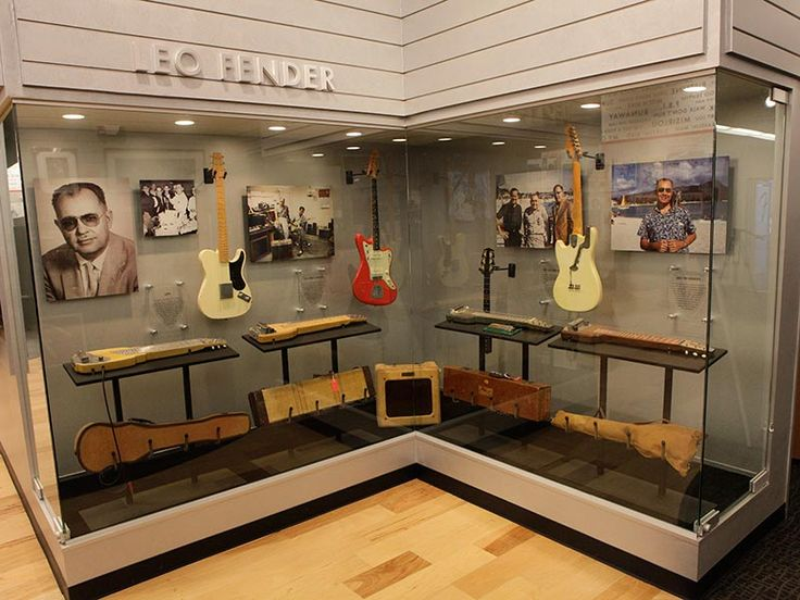 Guitars Amps And History At The Fender Visitor Center