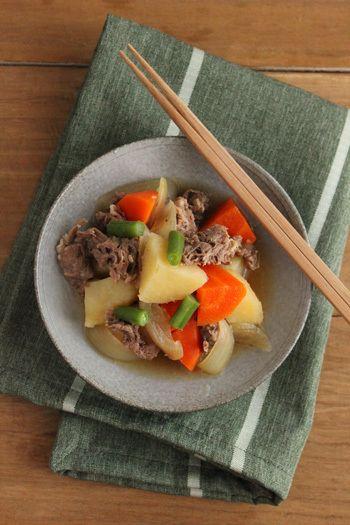 お弁当にも♪肉が固くならない肉じゃがの作り方  ビジュアル系フード