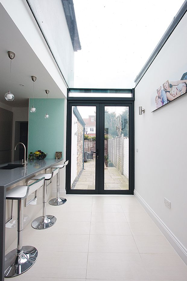 IQ Glass kitchen extension