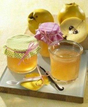 Quitten-Vanille-Gelee mit echtem Vanillemark Rezept: Gläser,Quitten,21,Vanilleschote,Mulltuch