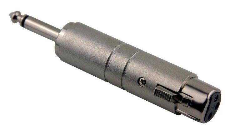 "PIG HOG PALTX14 Line Transformer, Xlr(F) to 1/4"", Electrical Distribution Product"