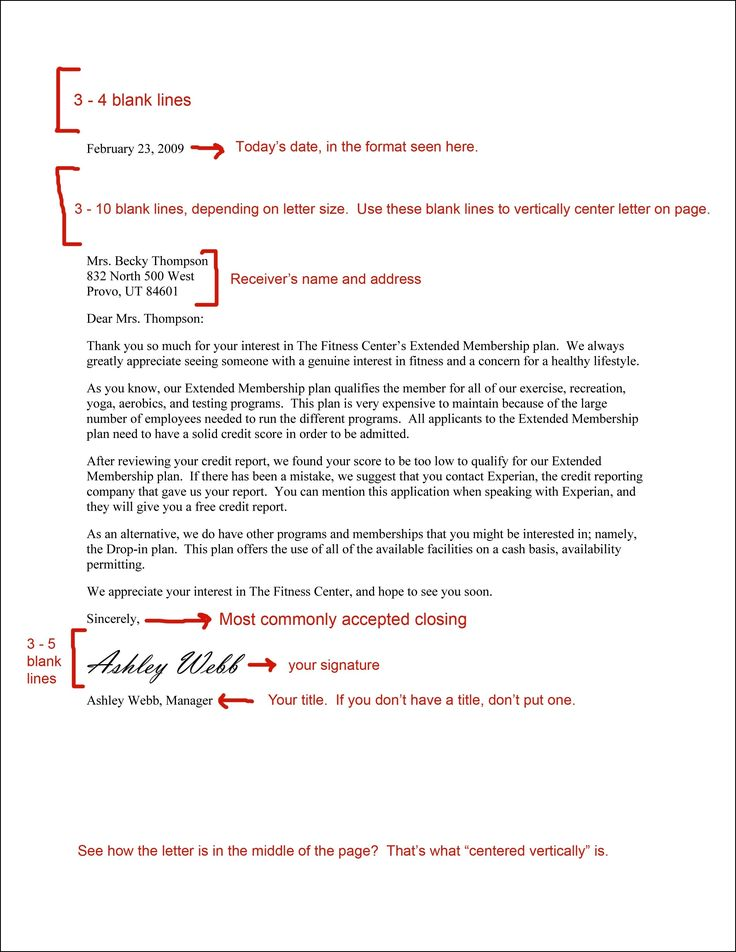 best formal business letter format ideas format business letter format spacing inside template letters formal block