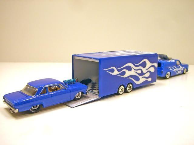 Nova race car and hauler