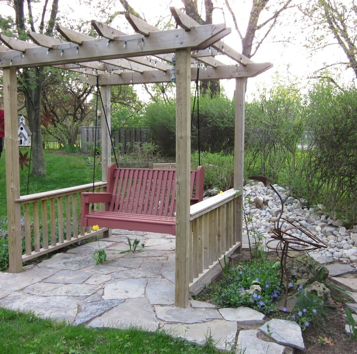 17 Best Images About Backyard Trellis Pergola Ideas On: 17 Best Images About Garden Swings,Arbors,Benches On