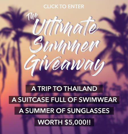 I just entered this giveaway for a trip to Thailand with We Are Handsome