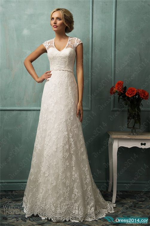 vow renewal? love this dress
