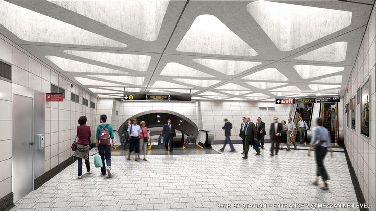 New York City Underground 2nd AVe stations