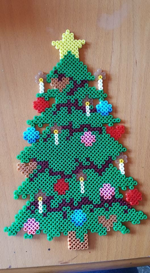 # Bügelperlen #Bead #Weihnachten #Hama   – Bügelperlen