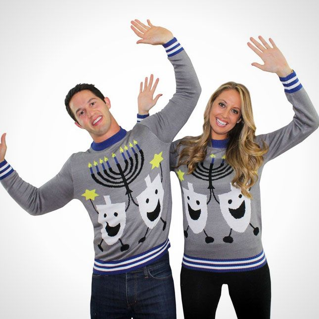 30 of the Tackiest Christmas Sweaters Ever via Brit + Co.