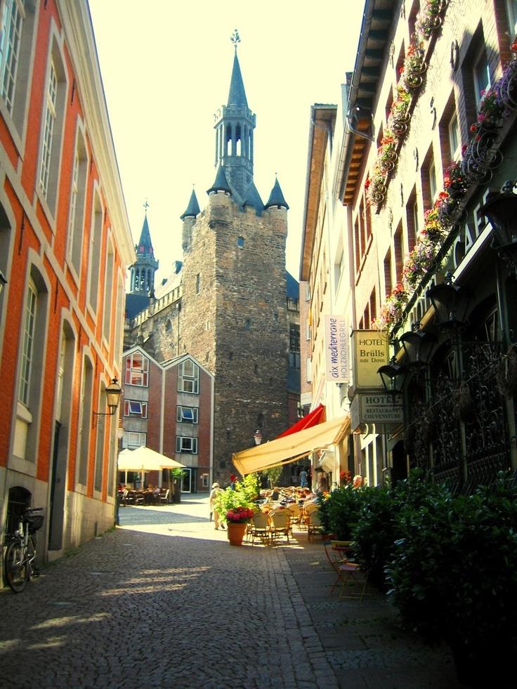 Street scene in Aachen by ~vishalmisra
