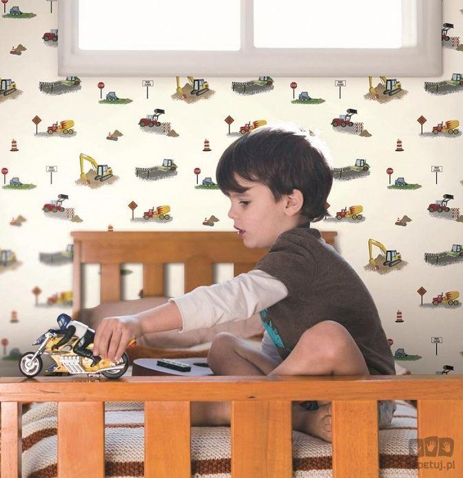 tapeta dla dzieci autka
