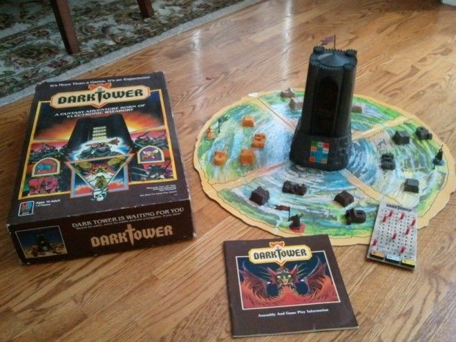 Dark Tower!  (Oh my goodness, I absolutely LOVED this game as a child.)