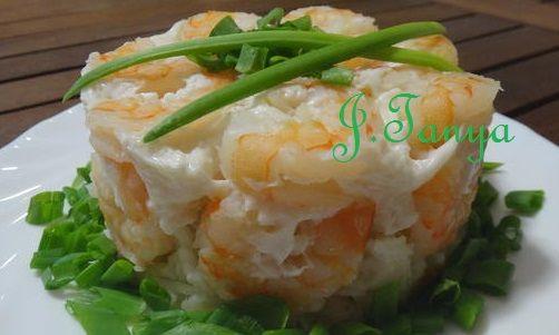 Это блюдо отлично подходит для лёгкого, диетического меню, особенно я люблю его готовить в летние жаркие дни, оно отлично удаляет голод и не вызывает чувства тяжести, ну и кроме того оно ещё и очень вкусное) Ингредиенты: Креветки - 200 гр Рис - 50 гр Белок - 1 шт. Соль - по вкусу Зеленый лук - по…