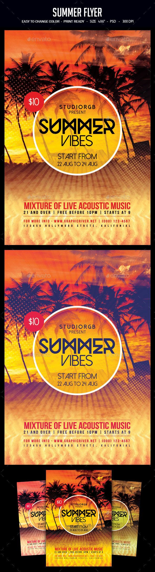 Best Summer Flyer Images On   Party Flyer Event
