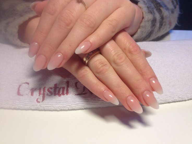 I love just clean and simple nails they always love just simple it make it look very fresh