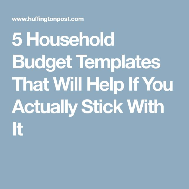 Best 25+ Household budget template ideas on Pinterest Family - sample budget summary template