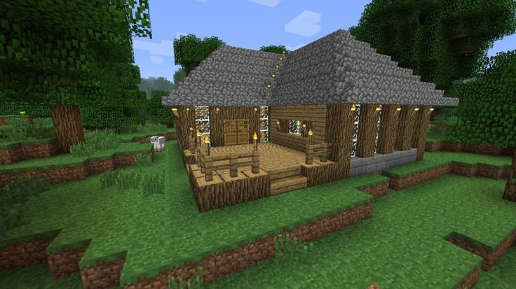 Cute Survival House Mincraft Houses Humor Pinterest