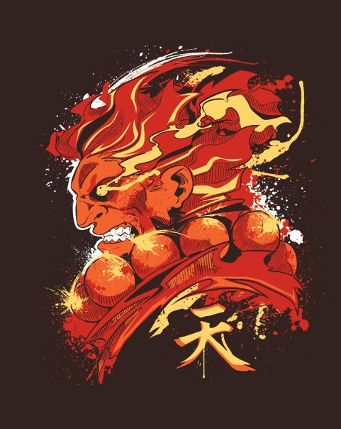 Gouki T-Shirt | $10 Street Fighter tee at ShirtPunch today only!