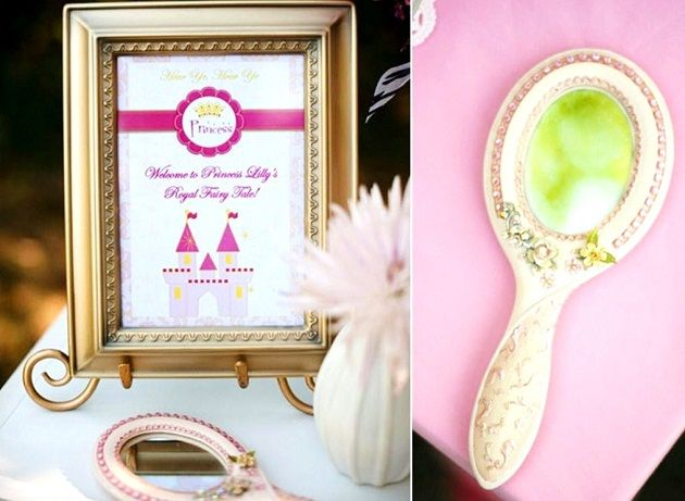Styled Shoot: A Fairytale Princess Birthday Party! by Bird's Party