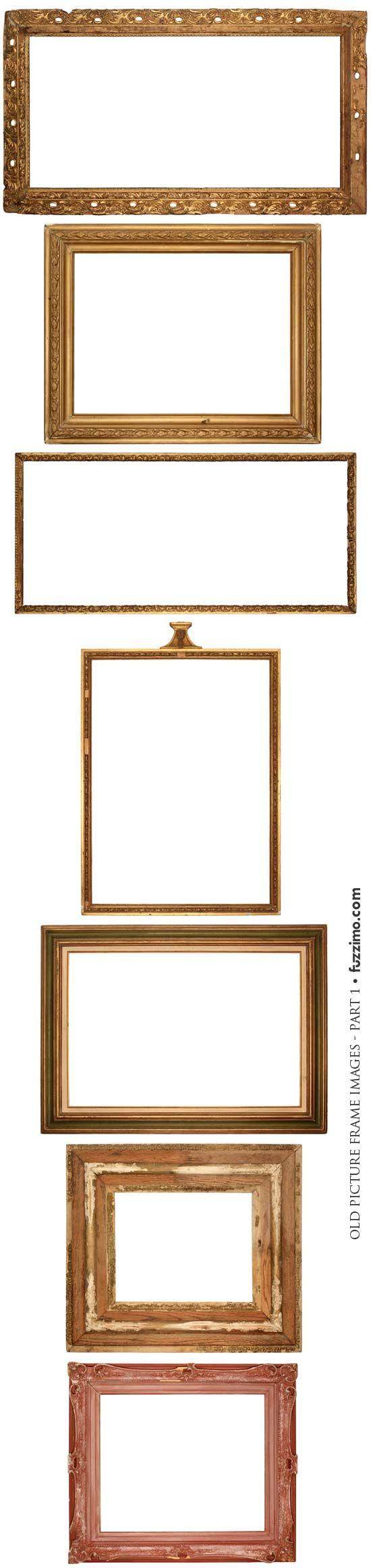 Hi-Res old picture frame images  *********************************************