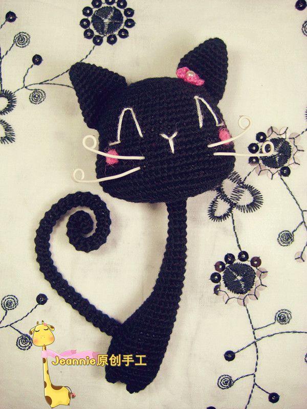 Amigurumi Gatita Kitty : 17 mejores imagenes sobre gatos amigurumis en Pinterest ...