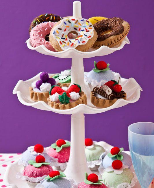 Donuts de feltro  - Felt