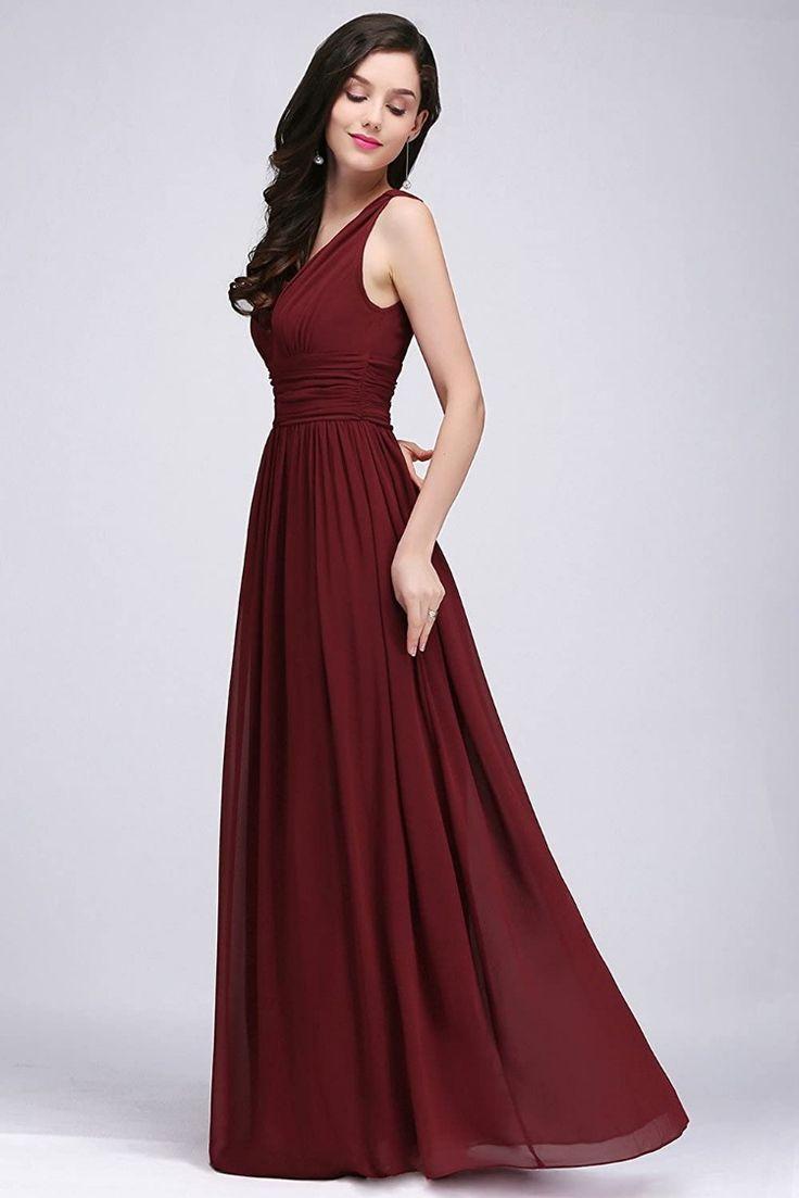 Kleid für Brautmutter in 2020 | Chiffon abendkleider ...