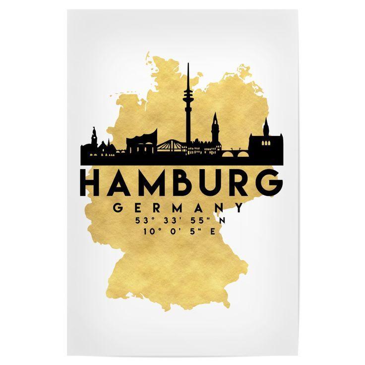 Die Wunderschone Silhouette Hamburgs Und Die Grossartige