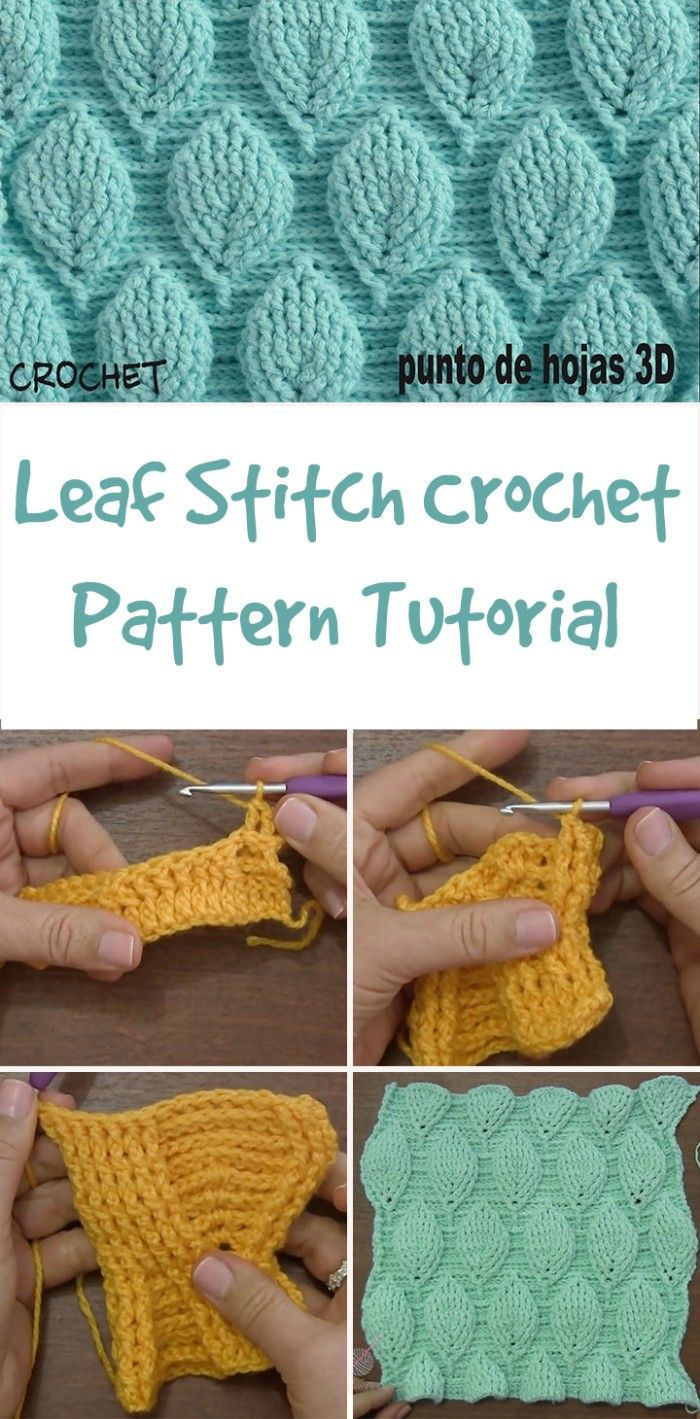 Here we have shared a grand list of New Free Crochet Patterns that all makes perfect cuddly toys and can also be used as best lovey to your babies!Leaf Stitch Crochet Pattern Tutorial