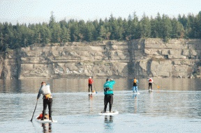Paddle B.C.'s Gulf Islands. Photo by Ocean River Adventures