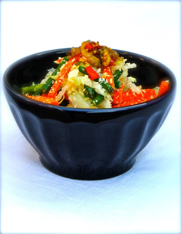 Balinese Mixed Vegetables With Coconut (Jukut Meurab)