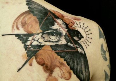 Xoil Needles Side Tattoo | Design Don't Panic on We Heart It.