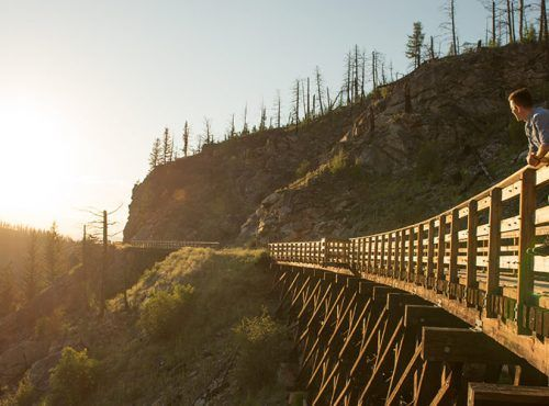 KVR Trail | Kettle Valley Railway | Recreational Trail | British Columbia