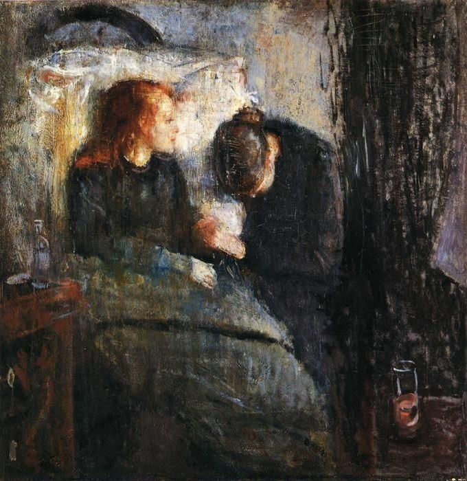 Edvard Munch - The Sick Child 1907