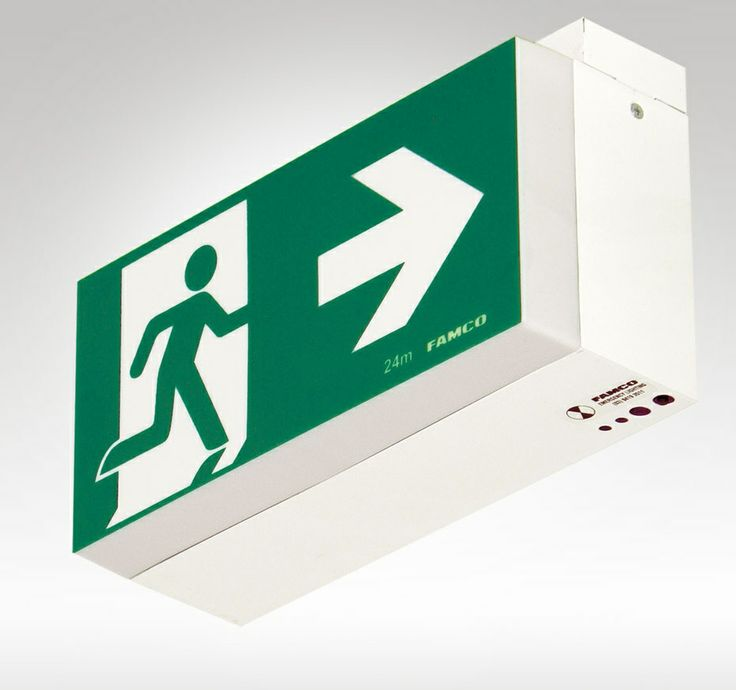 FAMCO F9914L Classic Exit. Manufactured to Famco's highest standards our LED Exit signs are a cost effective solution to AS/NZS2293 standards. The long life LED lamps provide improved reliability resulting in reduced maintenance costs.