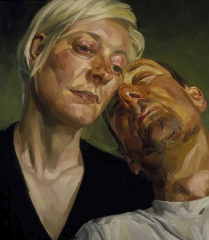 Tai-Shan Schierenberg - 'Lucy and Patrick'  Love this painting, lots of emotion there.
